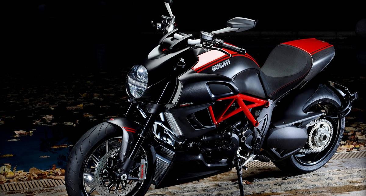 Ducati Diavel стал самым продаваемым мотоциклом марки
