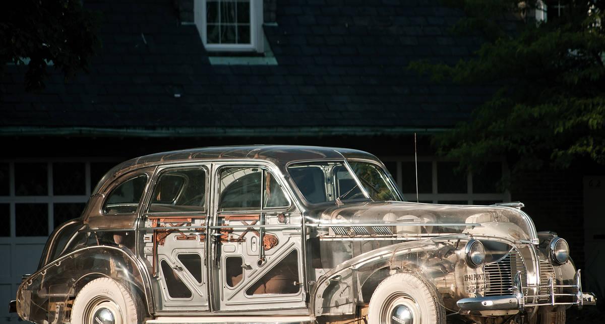 Автомобиль-призрак уйдет с молотка