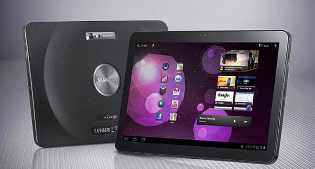 Был показан 10-дюймовый планшет от Samsung (видео)