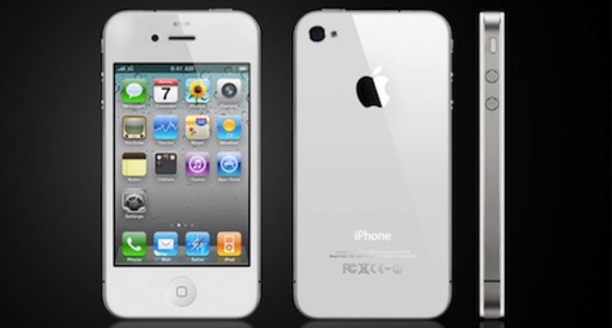 Apple начала продажи белого iPhone 4