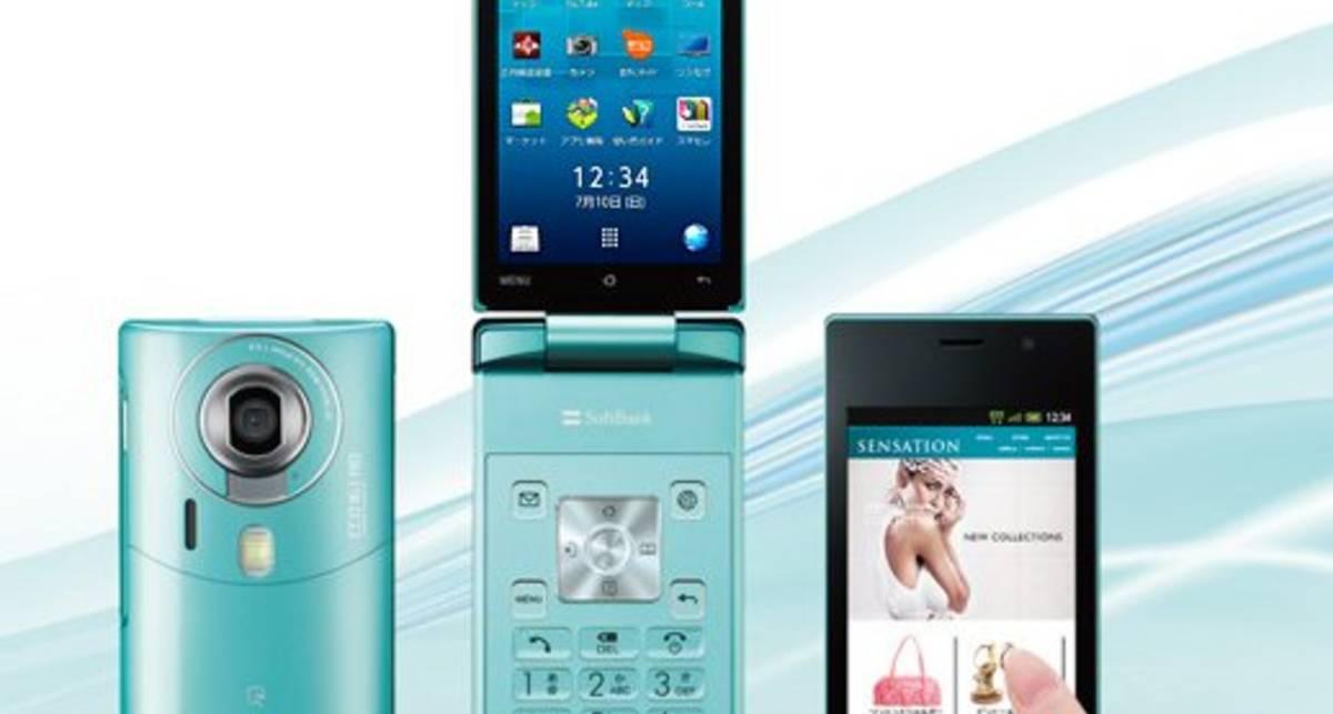 Sharp выпустит сенсорный смартфон-раскладушку