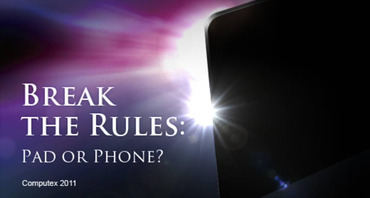 ASUS нарушит правила с новым планшетом