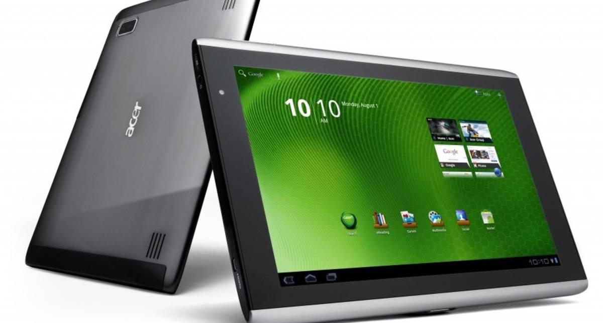 Acer Iconia Tab получит 64ГБ памяти