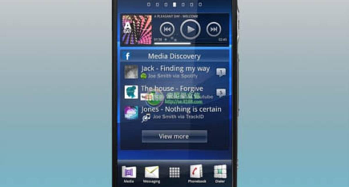 Sony Ericsson Xperia Duo получит огромный экран