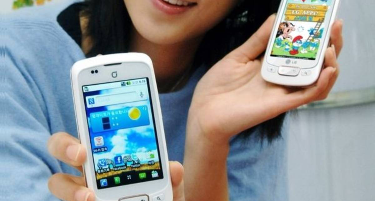 LG обновила свой смартфон Optimus One