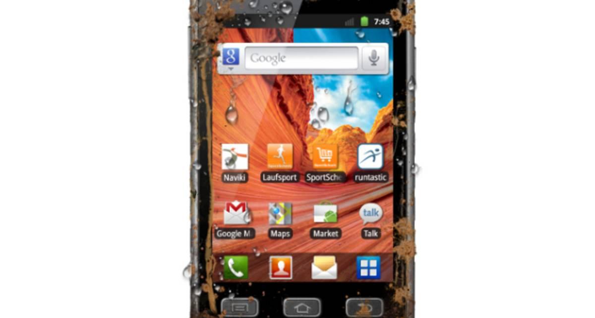 Samsung Galaxy Xcover не боится грязи и воды