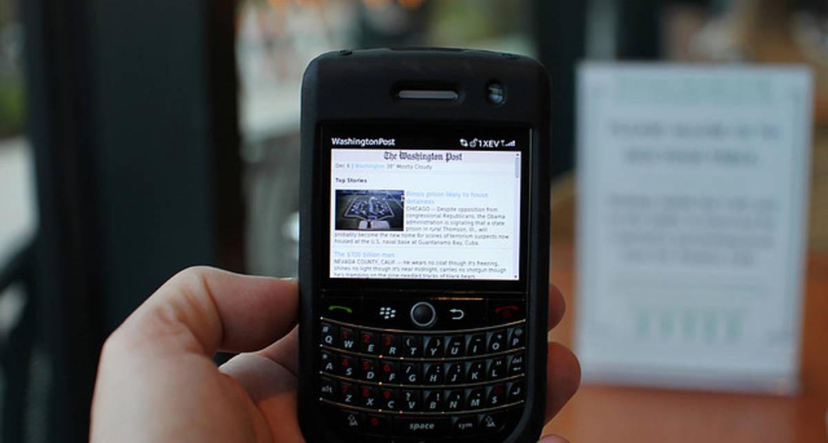 В Арабских эмиратах запретят BlackBerry