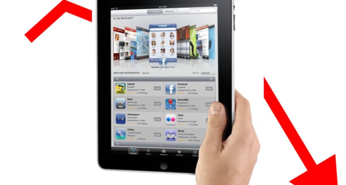 Землетрясение в Японии повлияло на продажи iPad 2