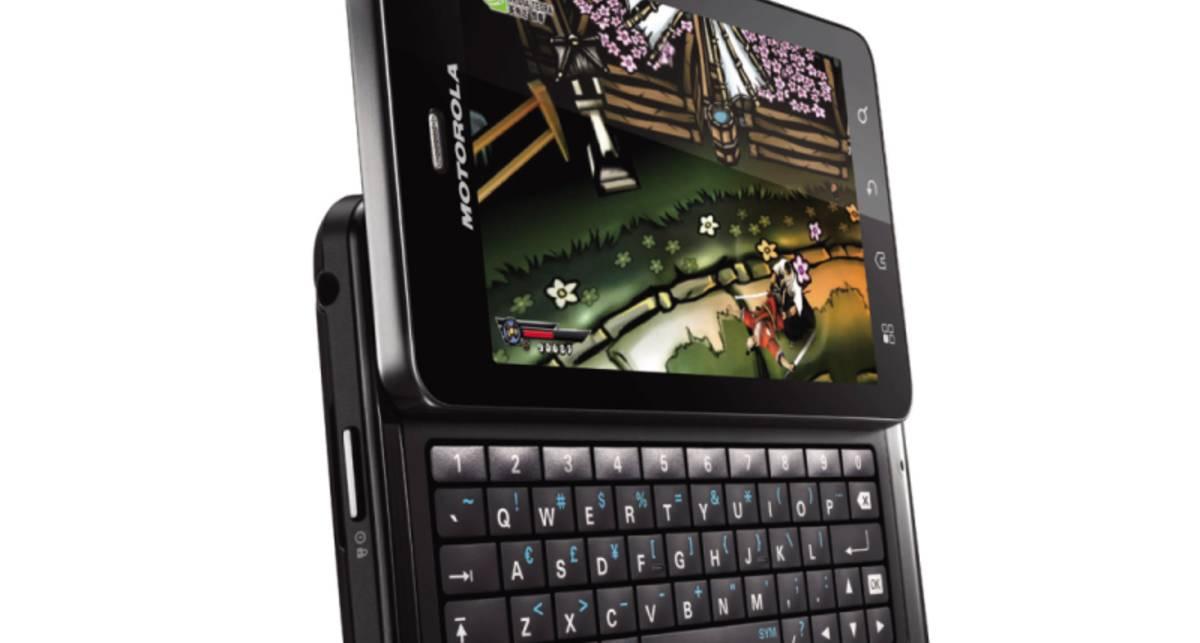 Motorola Droid 3 официально представлен публике