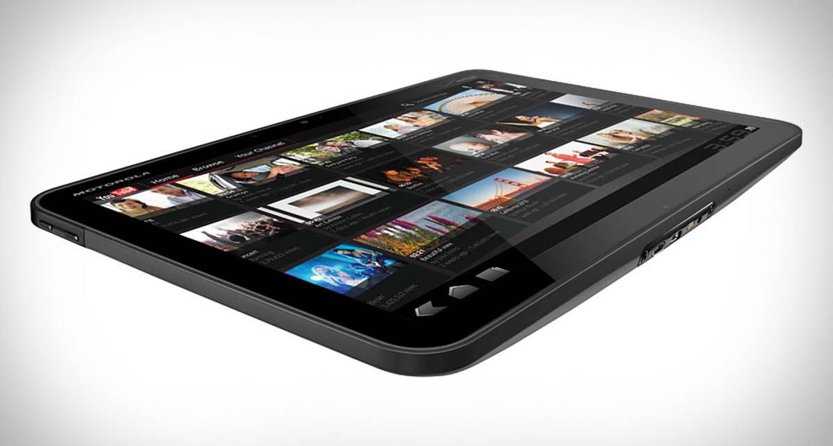 Motorola выпустит планшет с самым чётким экраном