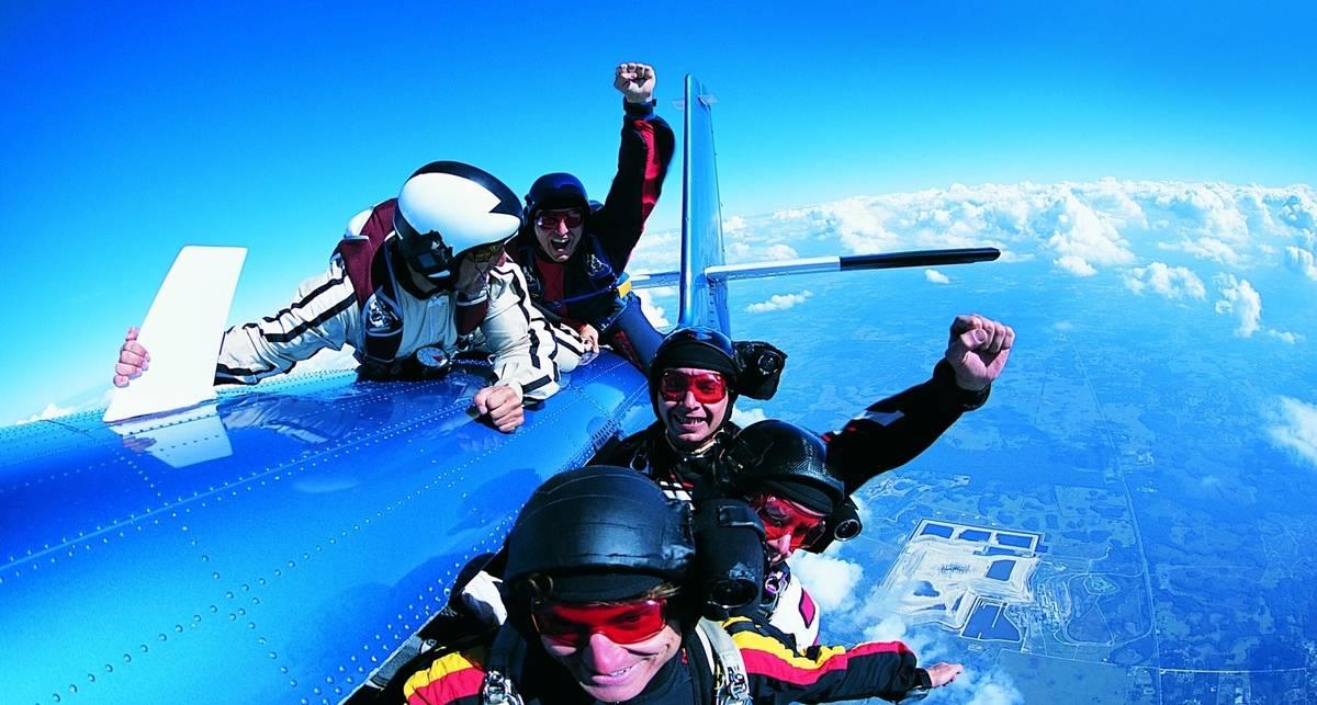 Как убить свой страх - и прыгнуть с парашютом