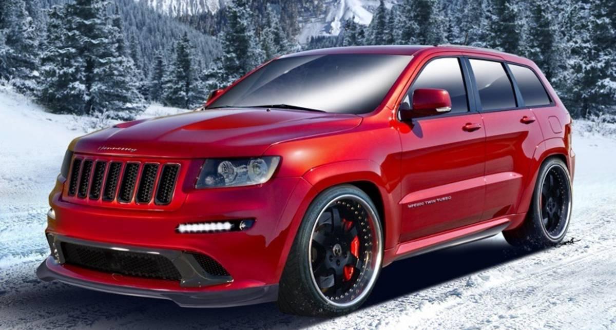 Jeep Grand Cherokee разгонится до сотни за 3,1 сек.