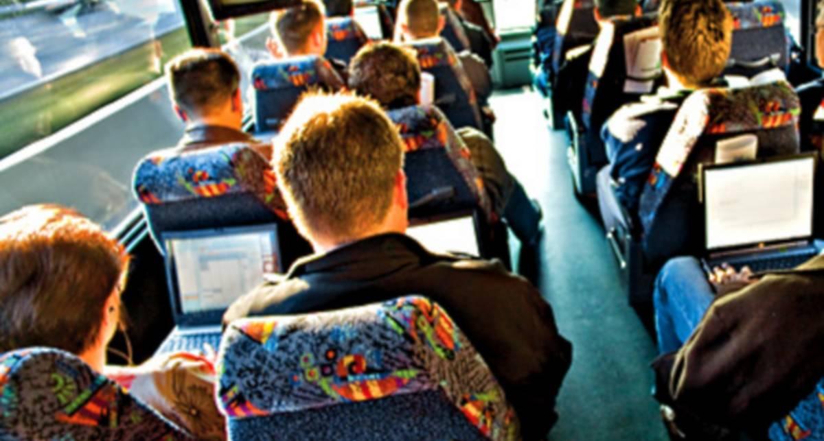 Московские автобусы обзавелись бесплатным Wi-Fi