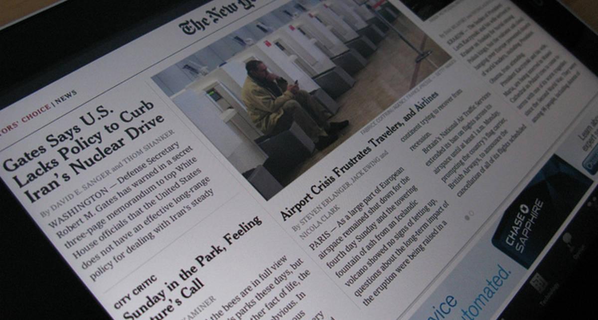 Huffington Post обогнал по популярности сайт газеты New York Times