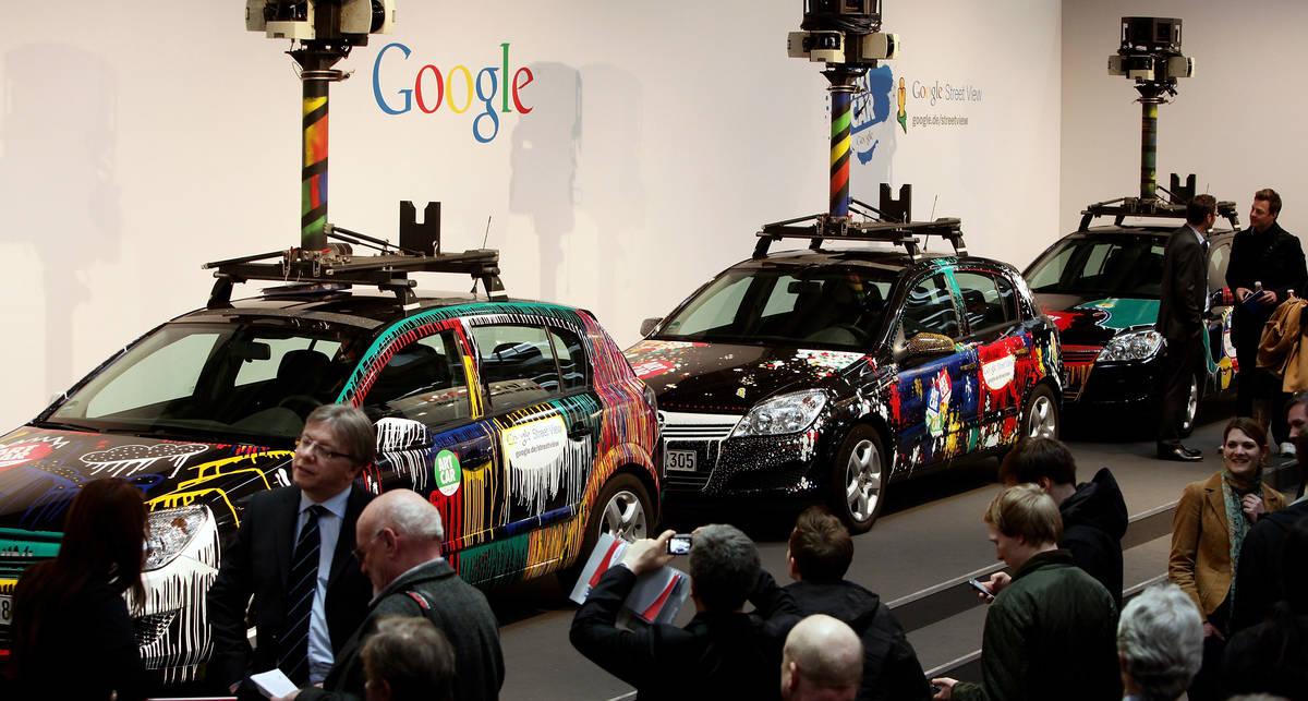 Автомобили Google собирали Mac-адреса компьютеров и мобильников