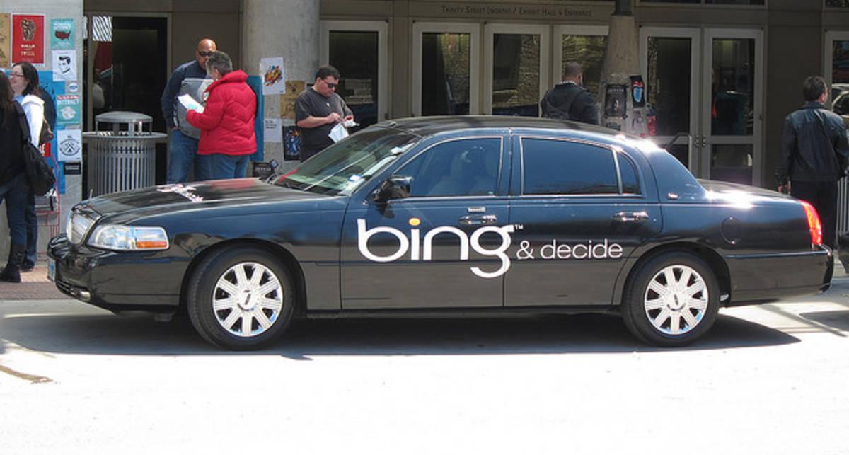 Поисковой системе Bing принадлежит 14% мирового рынка
