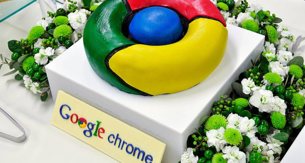 Доля браузера Google Chrome впервые превысила 10%