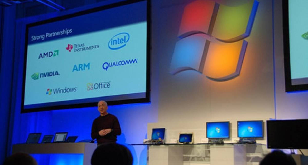 Microsoft провела первую демонстрацию Windows 8 (фото)