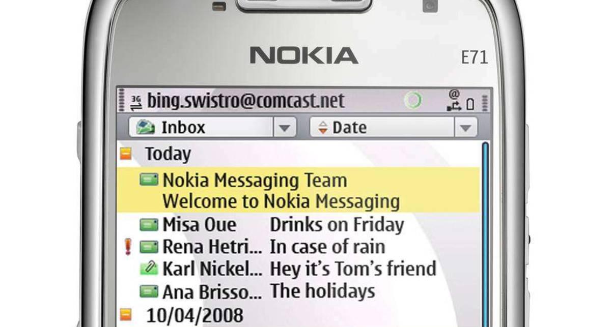Nokia запустила собственный месседжер