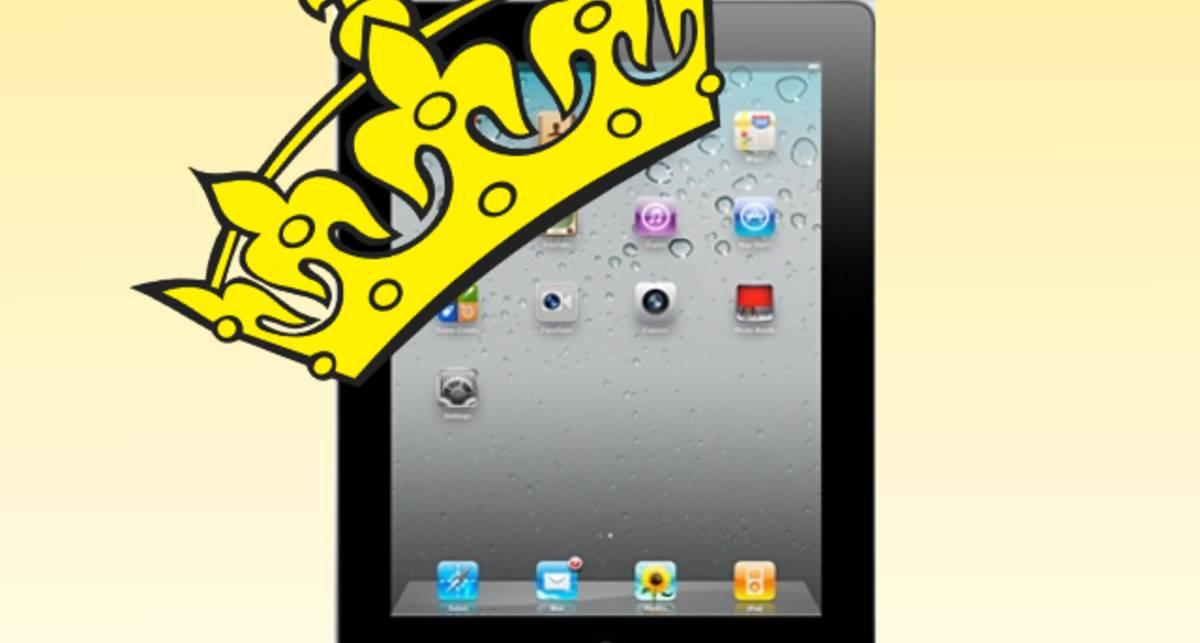 Её Величеству преподнесли iPad 2