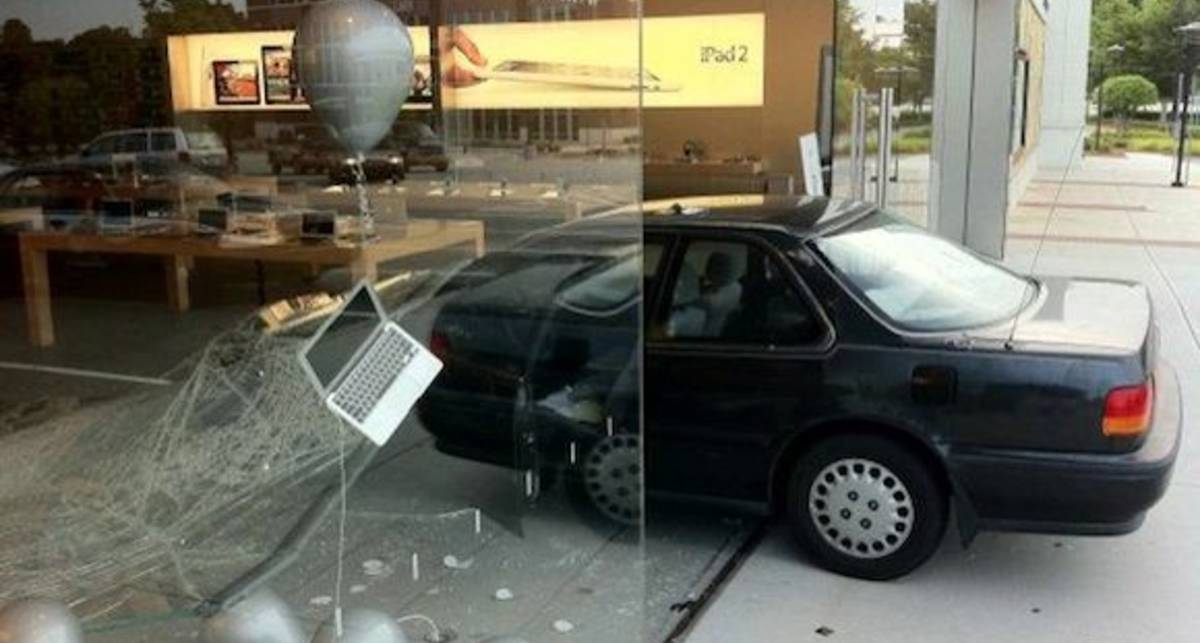 Ниндзя-неудачник совершил попытку ограбления Apple Store