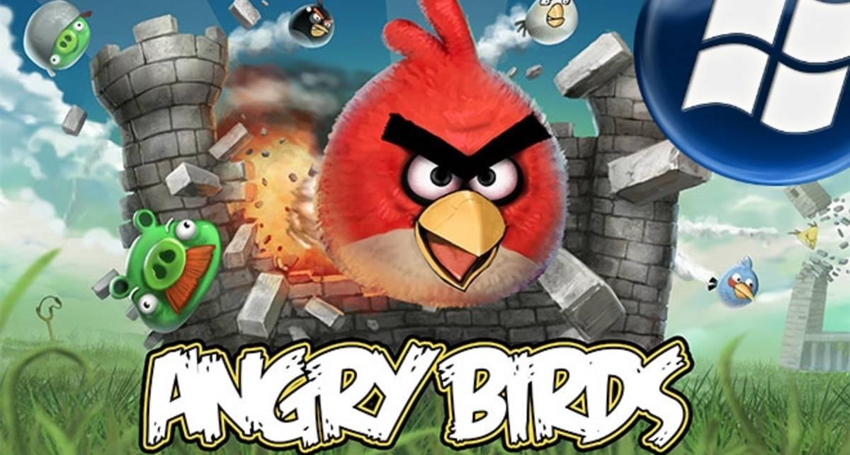 Angry Birds прилетели на Windows Phone 7
