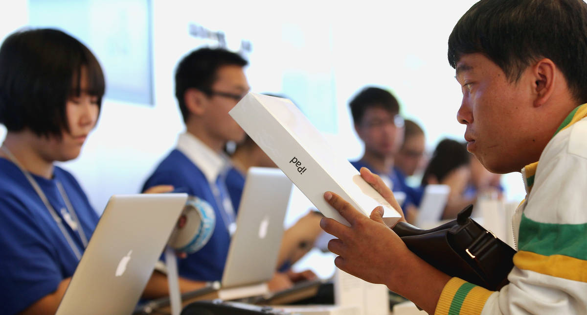 Китай продолжает подделывать магазины Apple