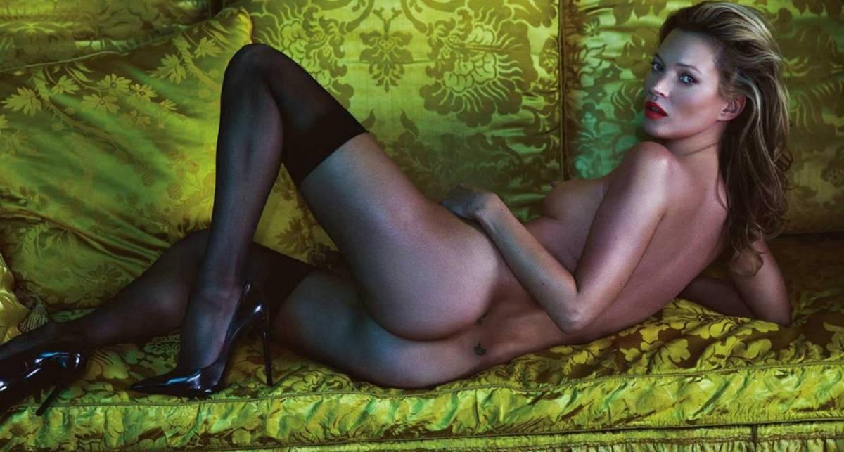 Эротика в 40: Кейт Мосс продолжает обнажаться