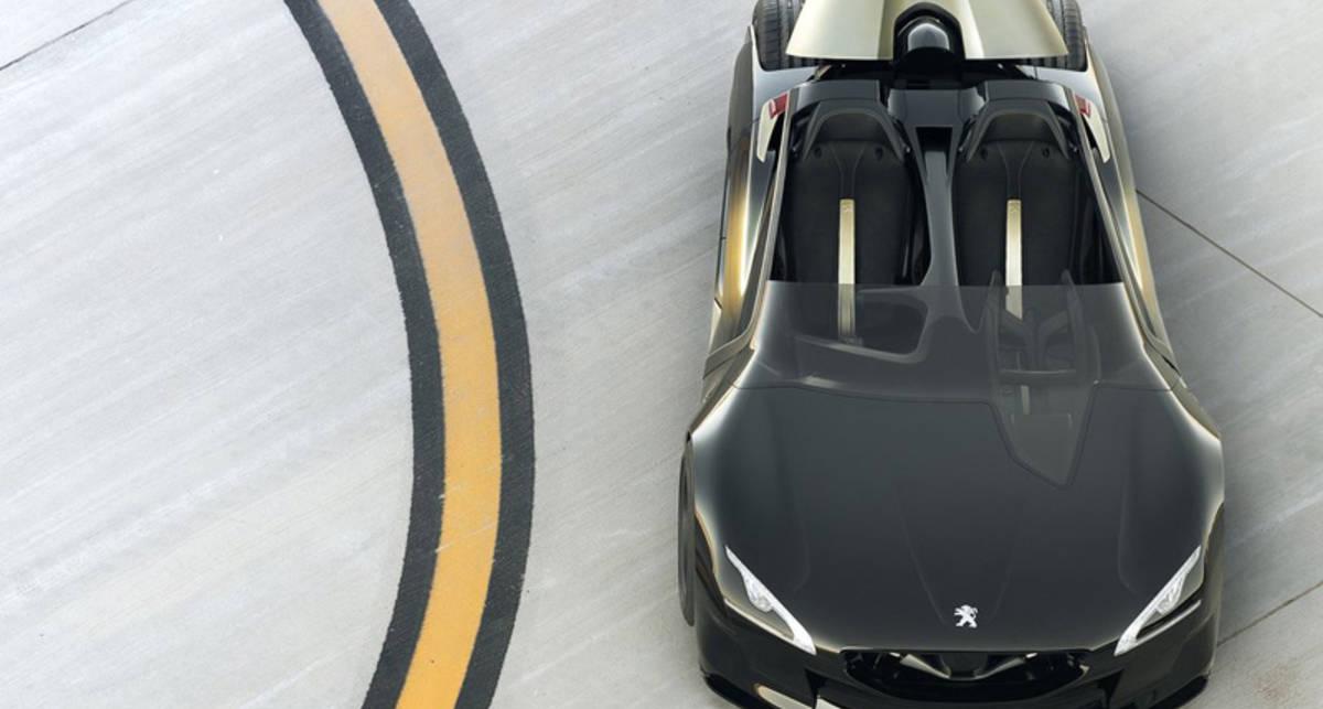 Peugeot EX1 стал самым быстрым электромобилем