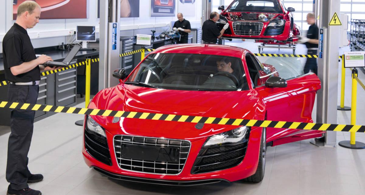 Audi выпустит электрический спорт-кар (фото)