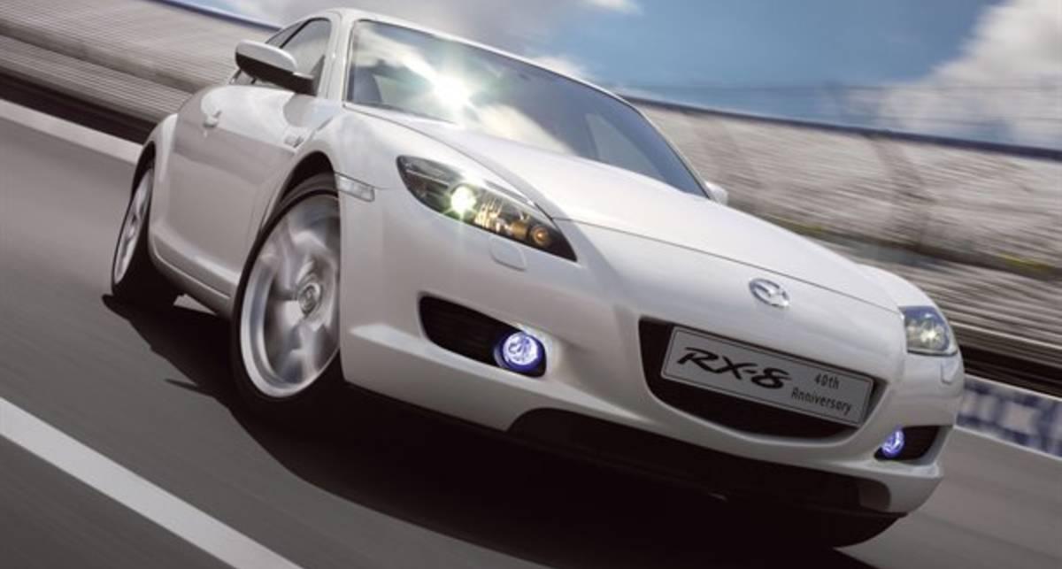Роторную Mazda оснастят лазером