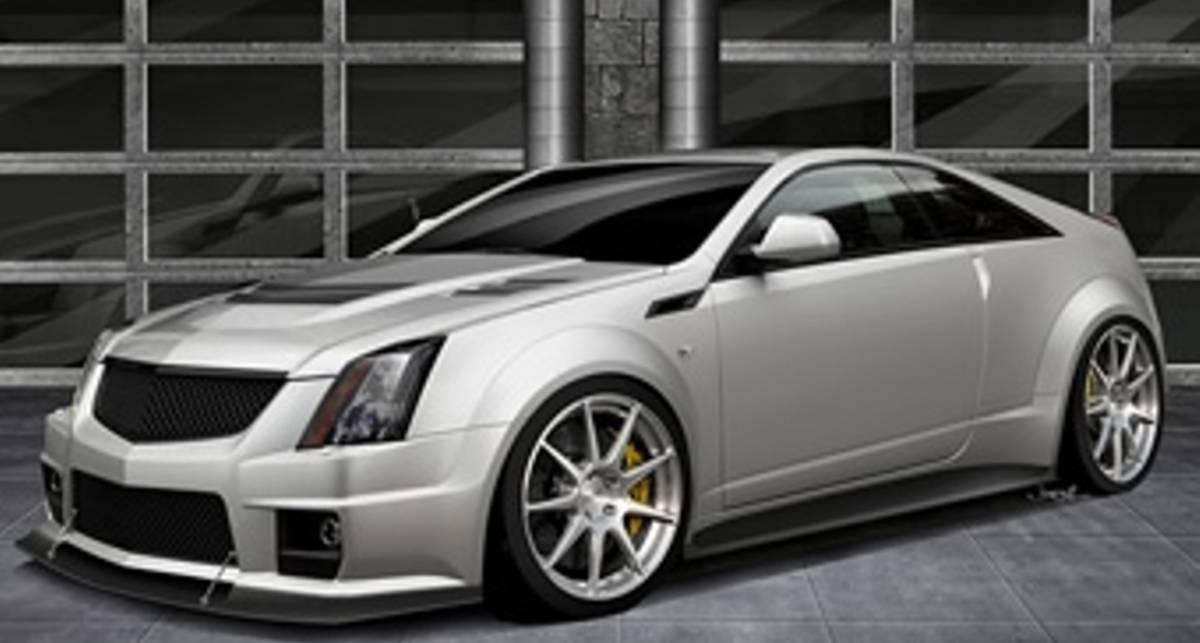 Американцы построят сверхмощный Cadillac CTS-V