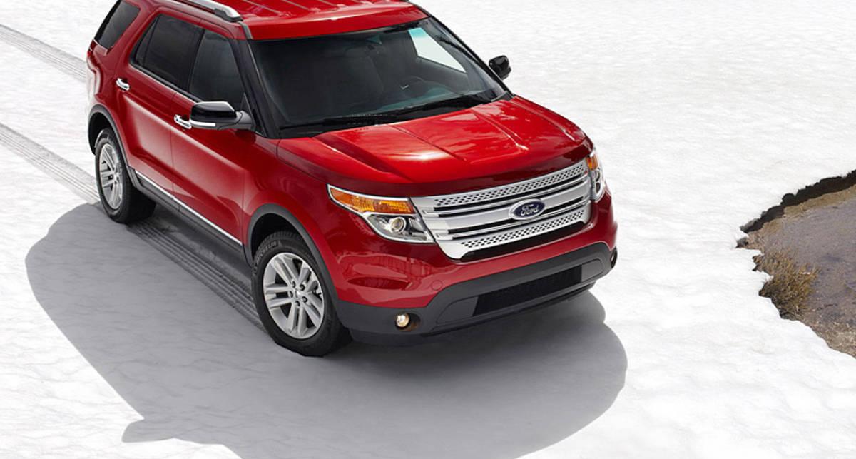 Ford Explorer похвастался экономичным мотором (фото)