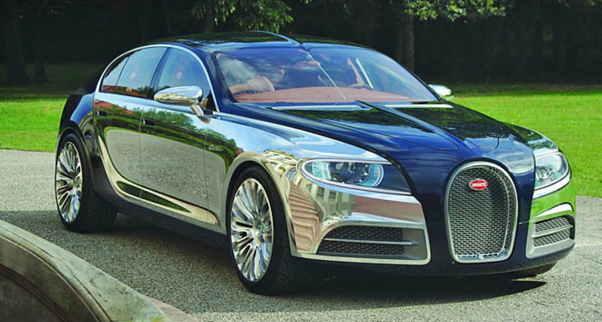 Еще несуществующий Bugatti Galibier оценили в $1,5 млн. (фото, видео)