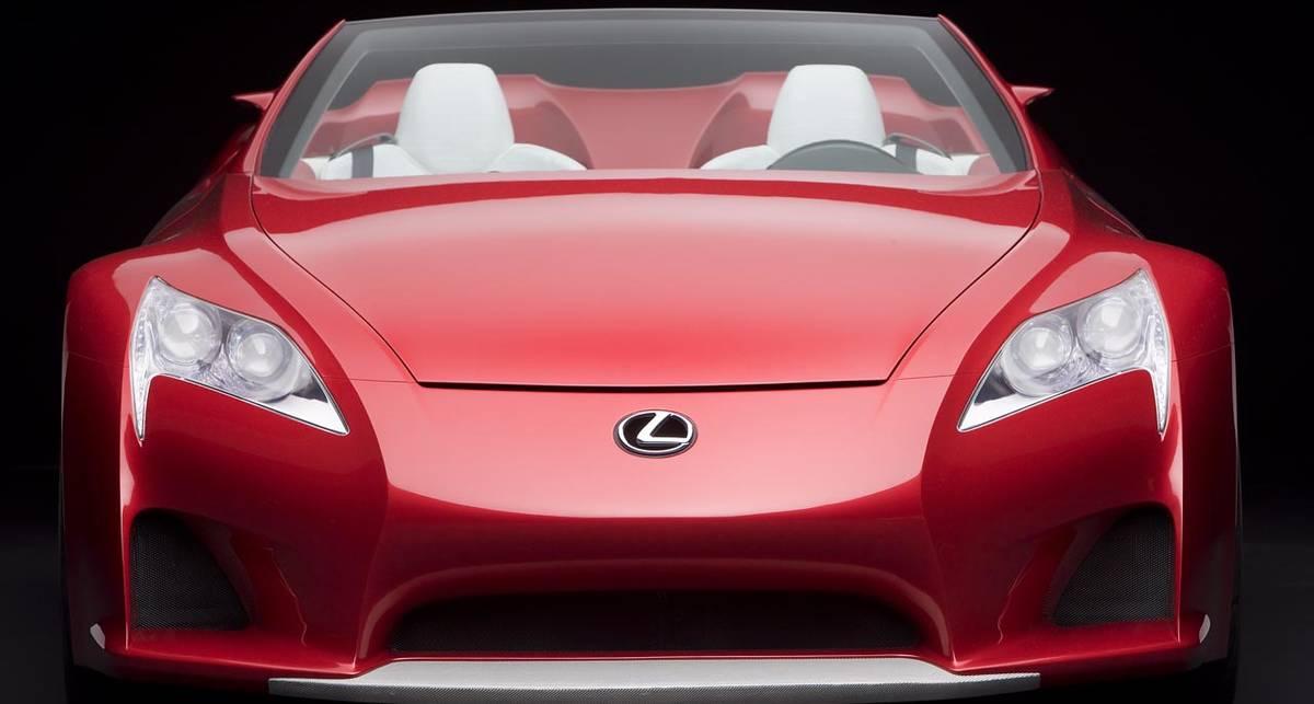 Родстер Lexus потягается с лучшими спорткарами (фото)