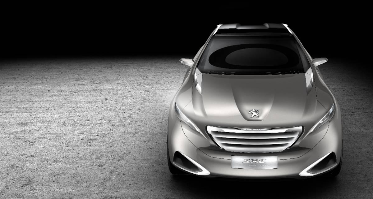 В Шанхае Peugeot представит концепт SXC