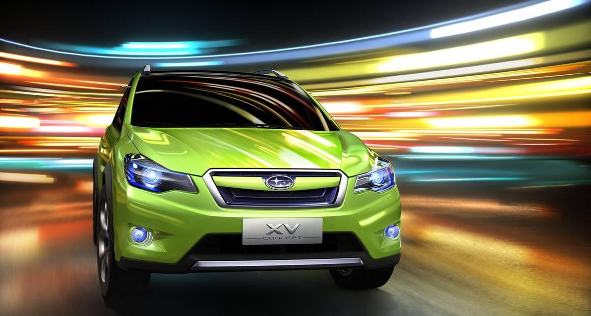 Subaru официально представила новый кроссовер (фото)