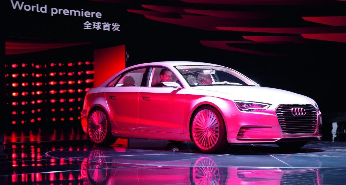 Audi сбила с толку автомобильную общественность (фото)