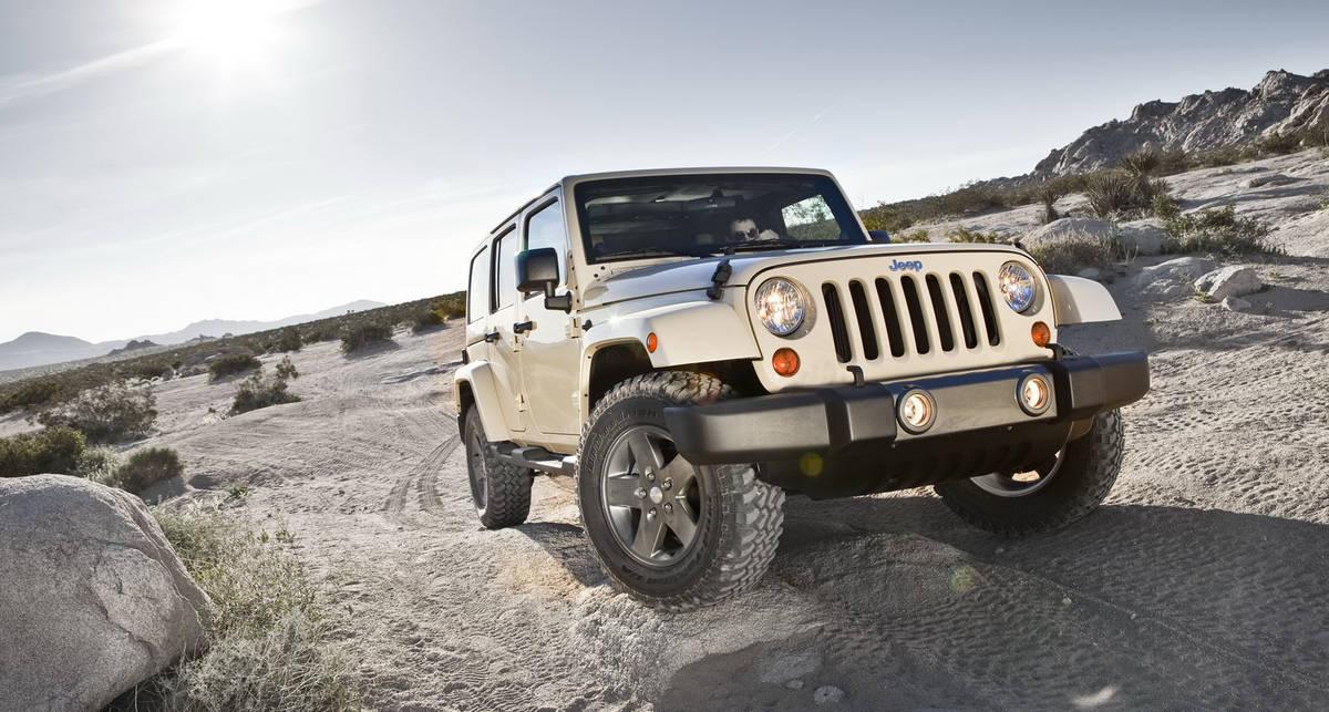 Jeep посвятил свой внедорожник пустыне (фото)