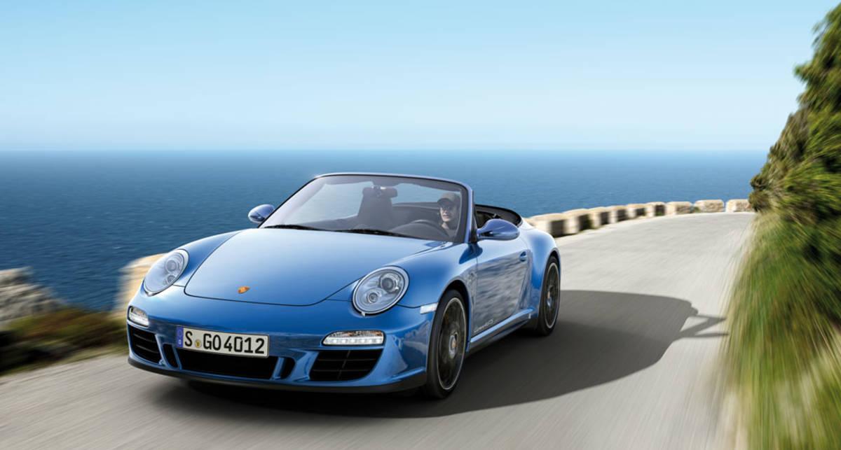 Линейка Porsche 911 пополнится двумя новинками (фото)