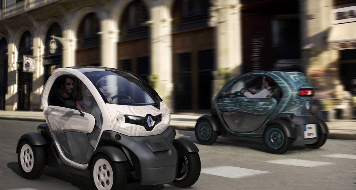 Renault начала продавать электрокары по цене ?7 тыс. (фото)