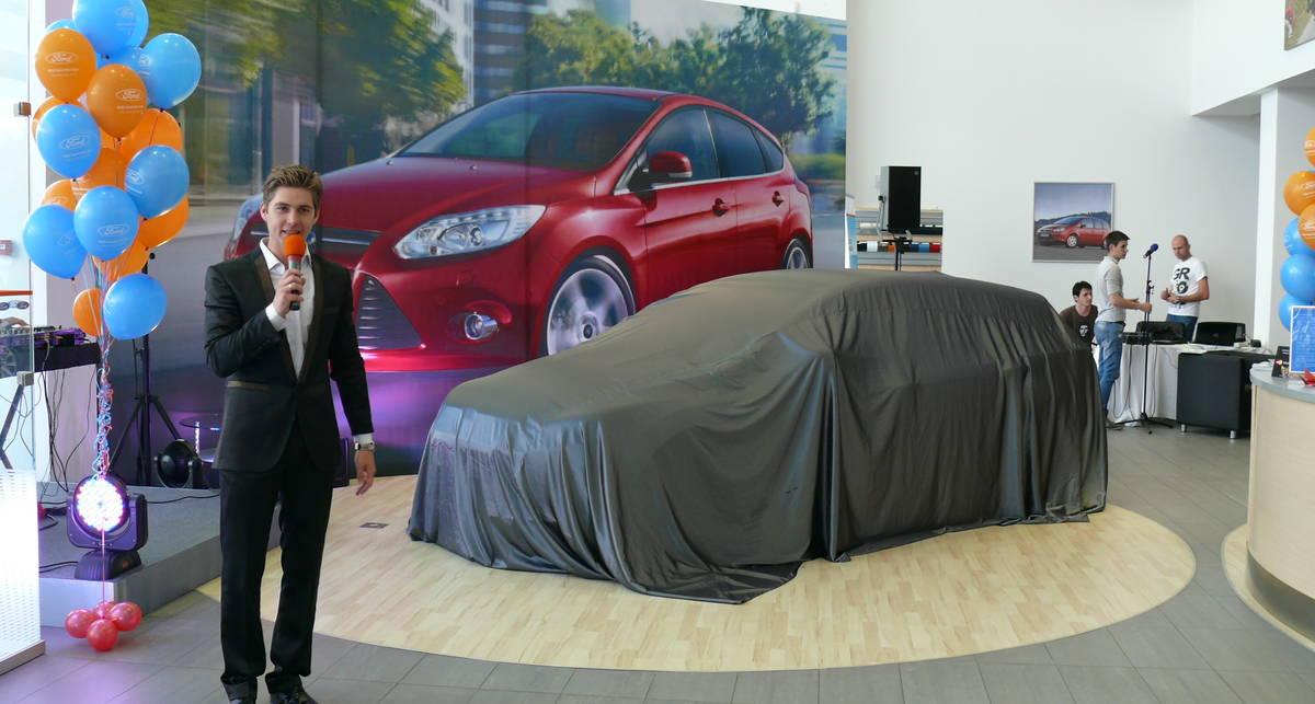 Новый Ford Focus уже в автосалонах