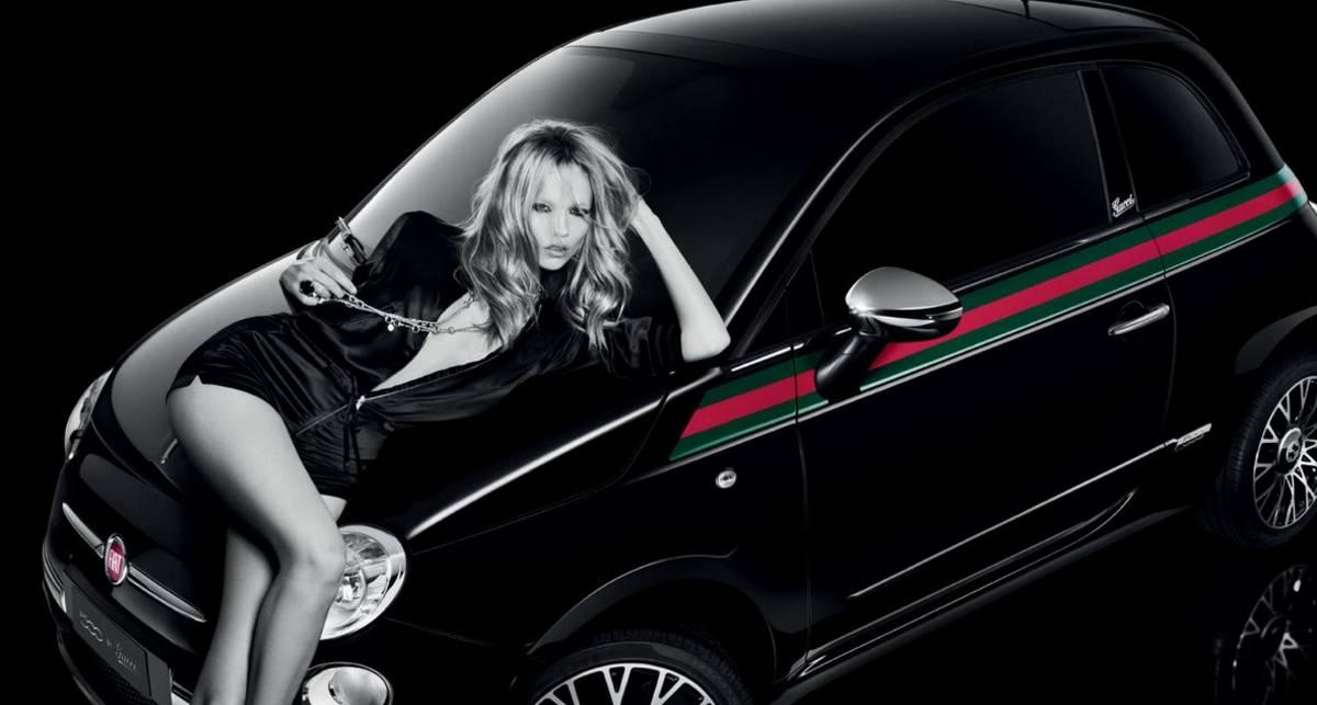 Смотрите, как российская модель рекламирует Fiat 500 by Gucci (фото)