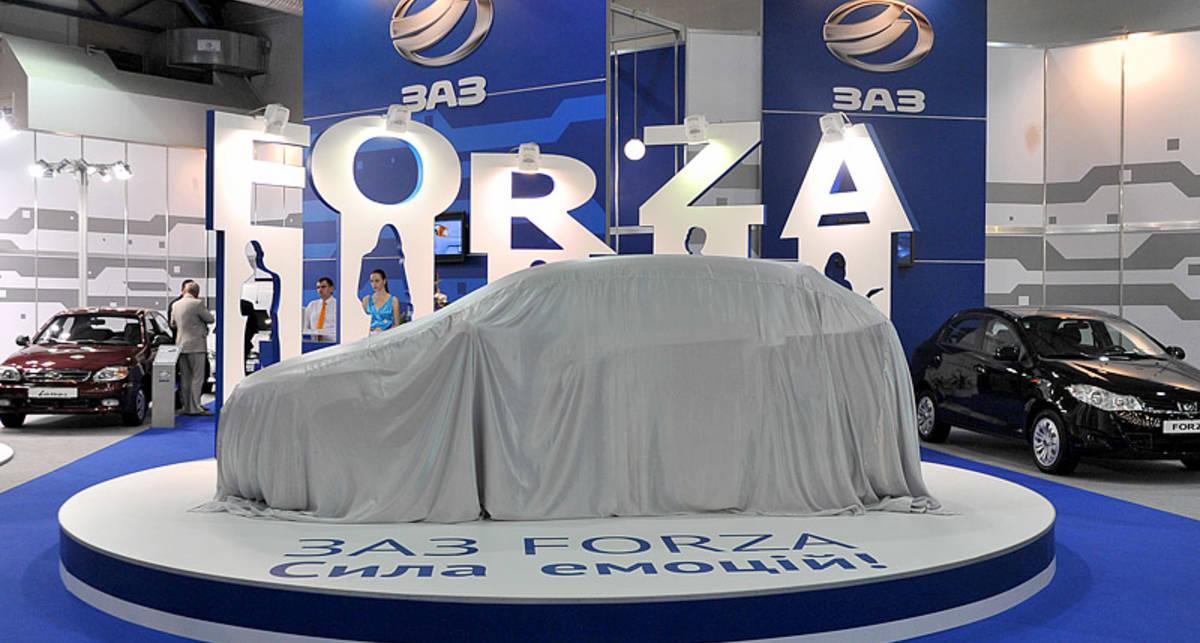 Новый ЗАЗ Forza дебютировал на SIA 2011 (фото, видео)