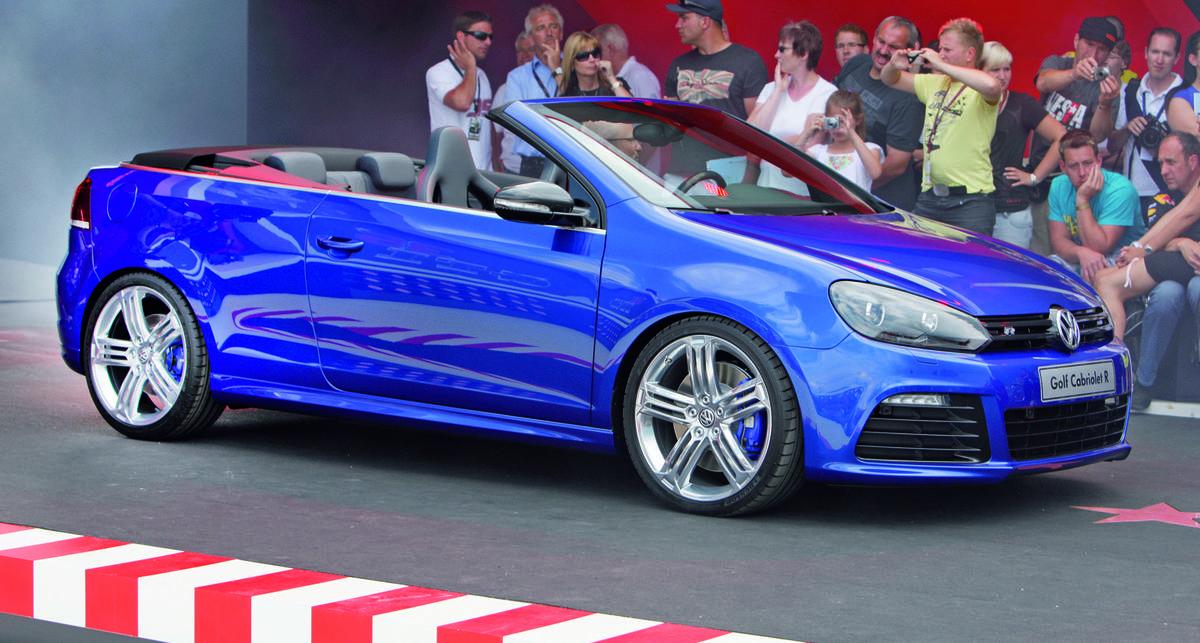 Volkswagen представил мощный кабриолет (фото)