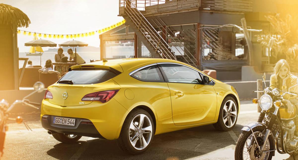 Opel разродился спортивной трехдверкой (фото)