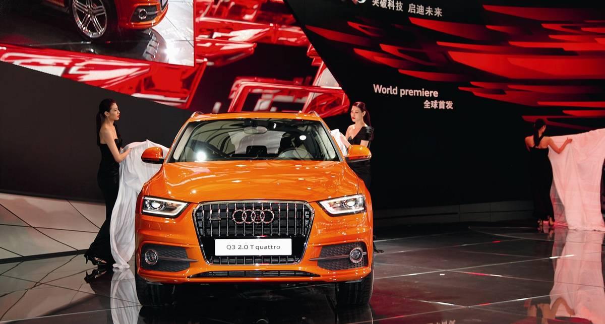 Новый кроссовер Audi появится в Украине осенью (фото)