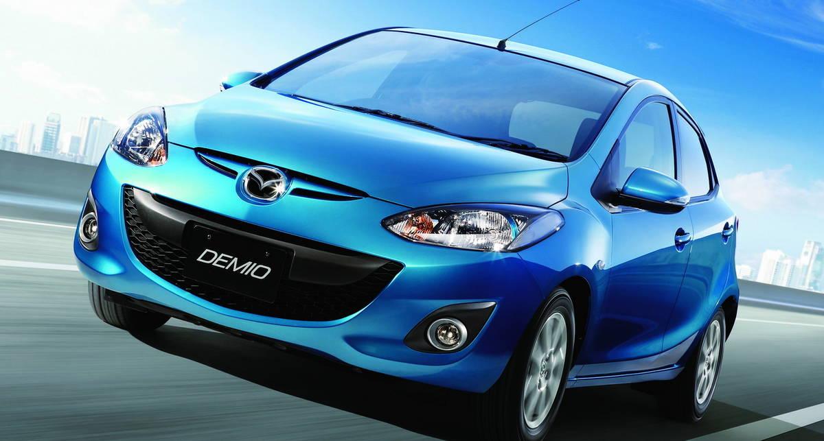 Новая Mazda2 будет рекордно экономичной