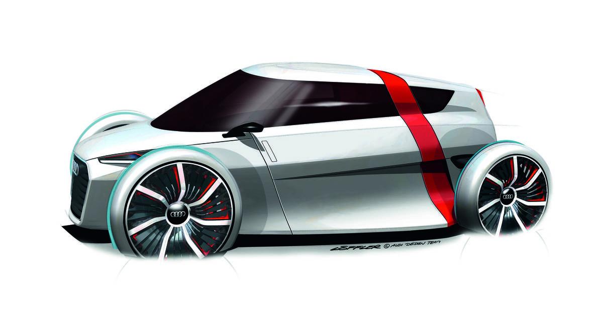 В новую Audi будут входить через крышу (фото)