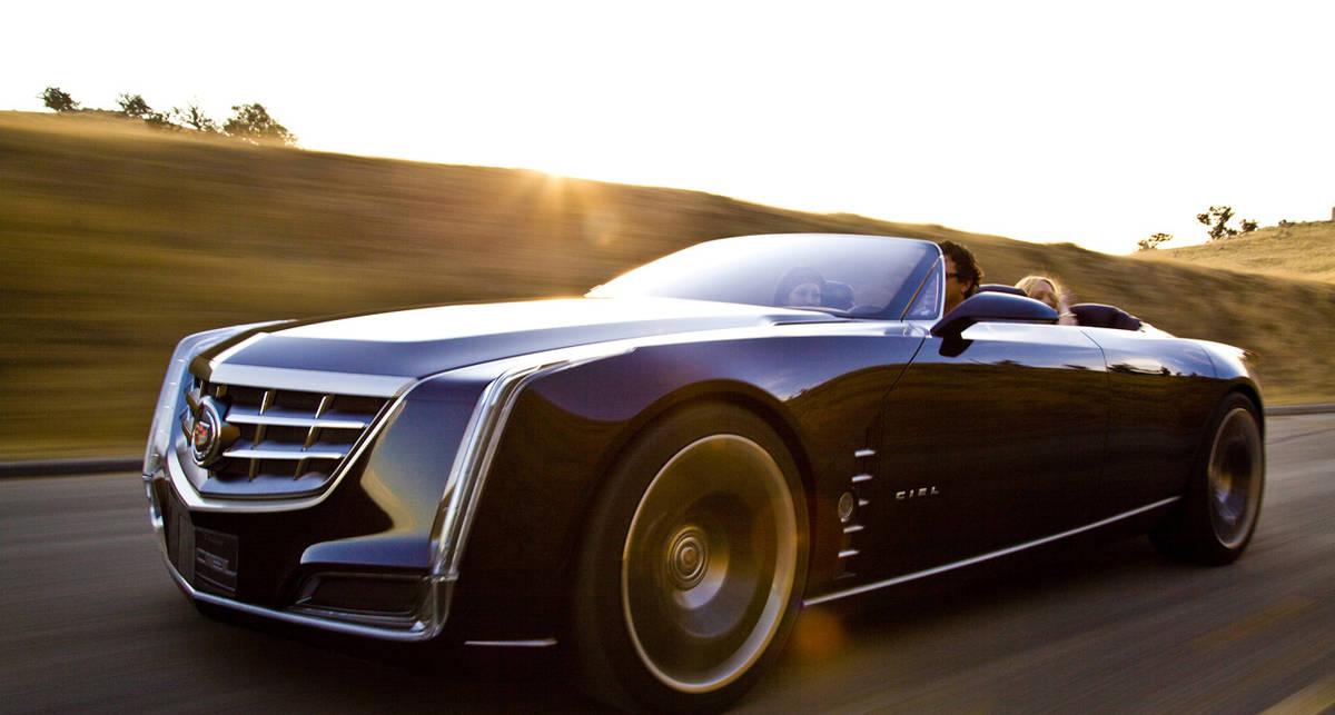 Cadillac спустил свой новый кабриолет